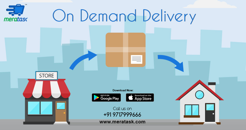 Meratask, On Demand Delivery Service