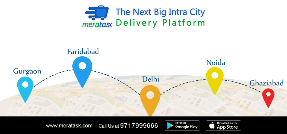 Meratask – The Next Big Intra city delivery platform