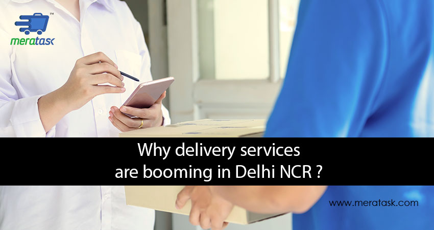 Why Delivery Services are booming in Delhi NCR?