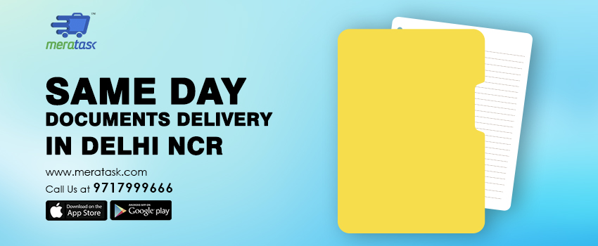 Document Delivery Services in Delhi NCR