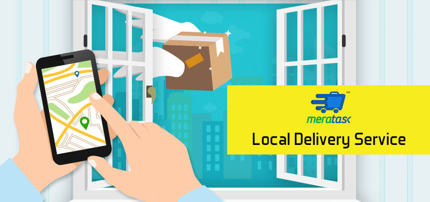 Meratask: Most liked Local Delivery Services App.