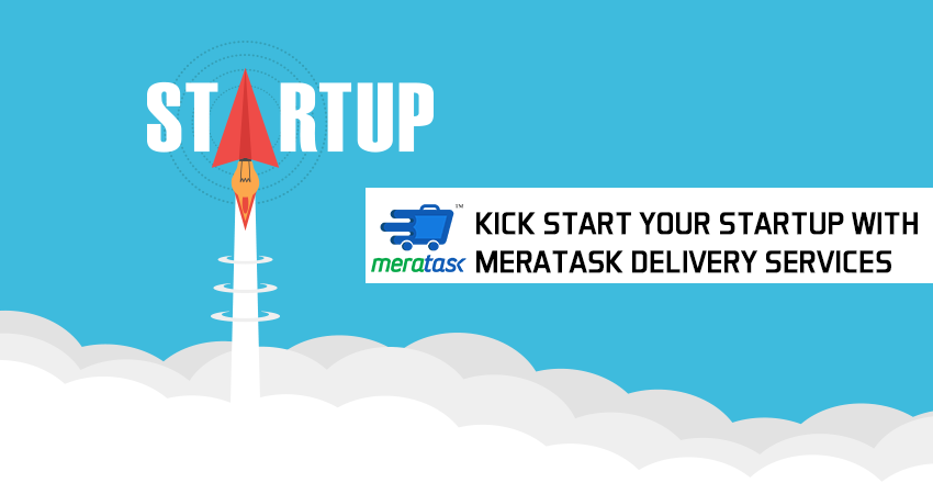 Kick start your Startup with Meratask Delivery Services
