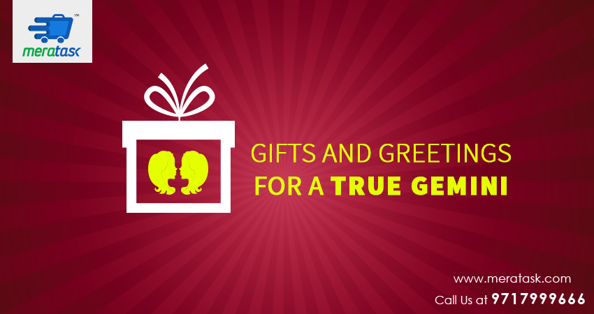 GIFTS AND GREETINGS FOR A TRUE GEMINI