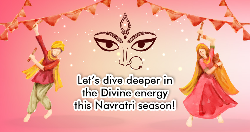 Let's dive deeper in the Divine energy this Navratri season!