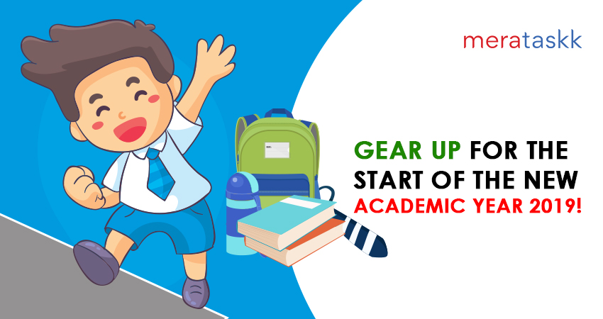 Gear up for the start of the new academic year 2019!