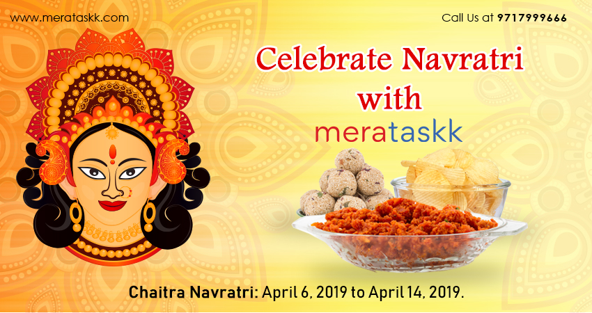 Hunger pangs during Navratras? Get your food items delivered through Merataskk.